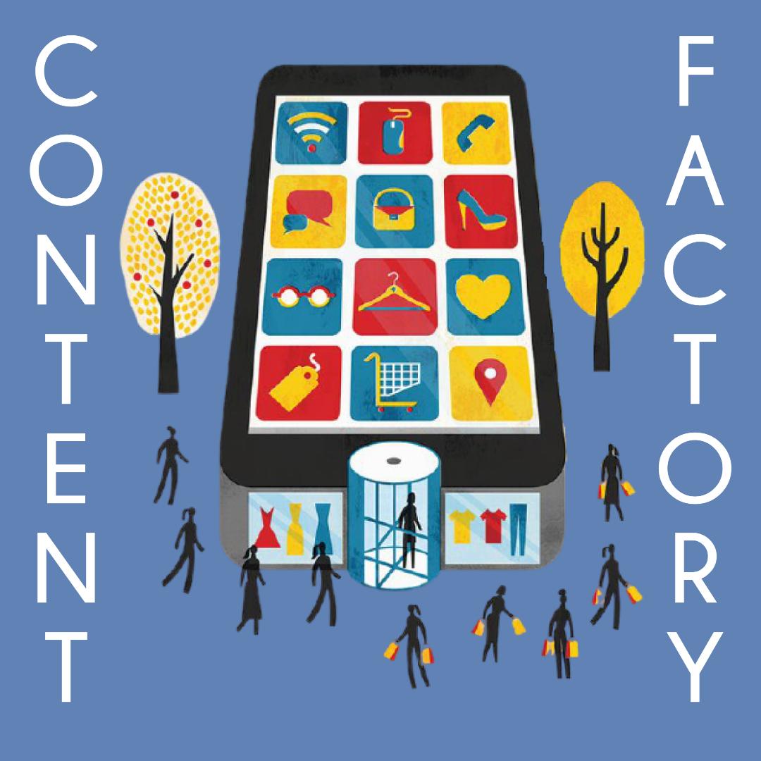 Content Factory. Практичний курс зі створення візуального контенту. Старт 16 березня
